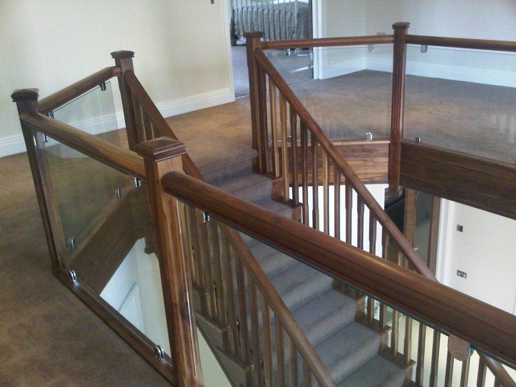 high-end staircase